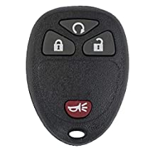 Canada Automotive Supply 1 New Keyless Entry 4 Button Remote Start Car Key Fob for 2014 Chevrolet Silverado w/FREE DIY Programming Guide 15913421