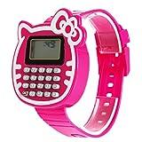 WinnerEco Children Silicone Date Multi-Purpose Kids Calculator Wrist Watch Rosered