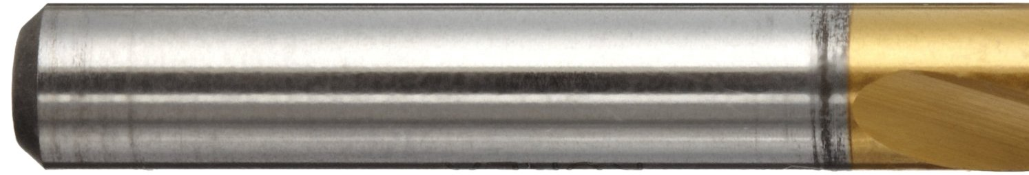Straight Shank #44 Size Slow Spiral Pack of 10 YG-1 D4148 High Speed Steel Screw Machine Drill Bit TiN Finish 11//128 Diameter x 1-3//4 Length 135 Degree