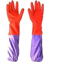 PIVBY Fish Tank Gloves Aquarium Water Change Tools Dry Rock for Saltwater Aquariums - Elastic Forearm Seals & Prevents…