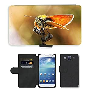 GoGoMobile PU LEATHER case coque housse smartphone Flip bag Cover protection // M00119318 Mariposa Macro Naturaleza Insectos // Samsung Galaxy S3 S III SIII i9300