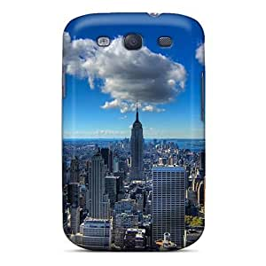 Galaxy Cover Case - Fabulous View Of New York City Hdr Protective Case Compatibel With Galaxy S3
