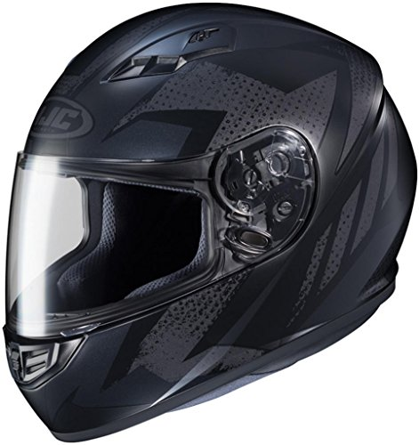 HJC CS-R3 Treague MC5F Full Face Motorcycle Helmet Black XX-Large