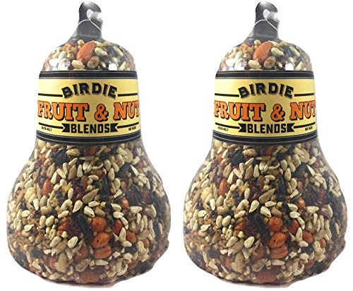Birdie Blends Fruit & Nut Bird Seed Bell for Wild Birds (2)