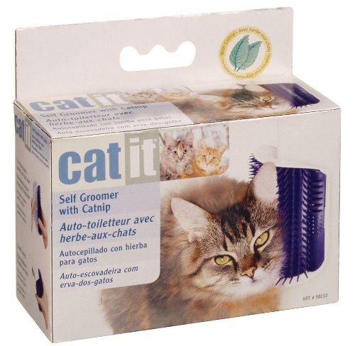 Hagen Catit Self Groomer with Catnip, My Pet Supplies