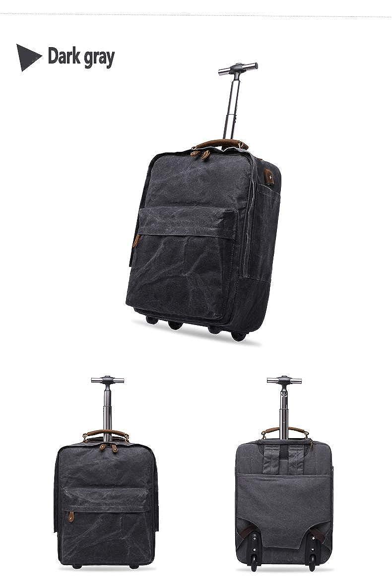 mochila profesional de negocios con puerto de carga USB maleta multifunci/ón de viaje al aire libre LGPNB Maleta de viaje maleta de transporte aprobada por el avi/ón