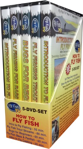 (How To Fly Fish 5 DVD Set)