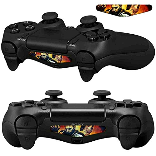 Fighting Duo - Mod Freakz Pair of LED Light Bar Skins Boy/Girl Fighting Duo for PS4 Controllers