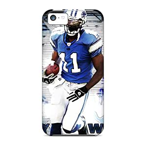 Rugged Skin Case Cover For Iphone 5c- Eco-friendly Packaging(dallas Cowboys)