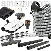 Beam Compatible Central Vacuum Electric Powerhead Sweep N Groom Rugmaster 30 Hose Kit