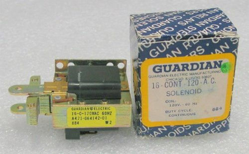 120a Solenoid - Guardian Electric Mfg Co 16-C-120A Solenoid, Continuous