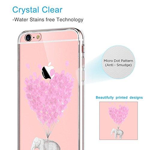 Qissy® (No para iPhone 6 plus/6s plus ) iPhone 6S Carcasa,iPhone 6 Case, TPU Silicone Fruit temptation La tentación de la fruta Case Cover for 4.7 inch iPhone 6 / 6S 7