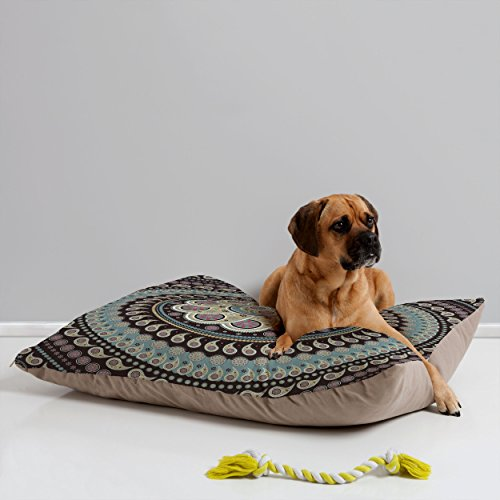 (Deny Designs Belle13 Mandala Paisley Pet Bed, 40 by 30-Inch)
