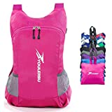 Cheap YOULERBU Lightweight Packable Backpack, Travel Hiking Daypack, Camping Backpack for Men Women (pink, 25L)