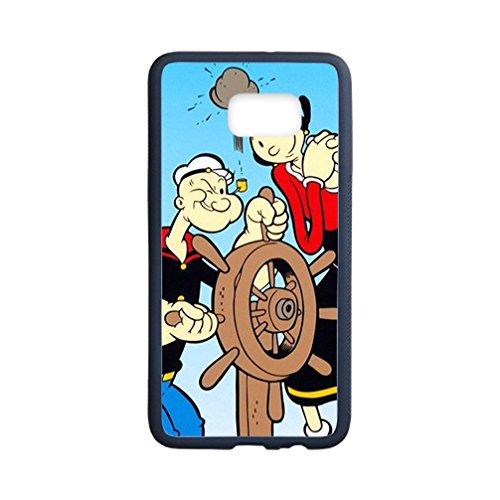 Australia Popeye Costume (DONGMEN New fashion custom Popeye the Sailor Man Cartoons hight quality Laser Technology TPU & Plastic Samsung Galaxy S6 Edge Plus)