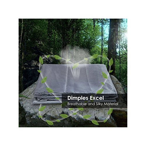 Dimples-Excel-Sleeping-Bag-Liner-with-Luxurious-Space