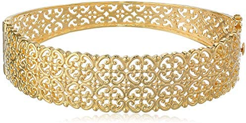 Beautiful 925 Silver Enamel Gold plated Clasp