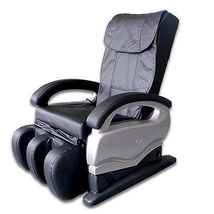 Sillón de masaje Shiatsu con silla reclinable y vibración para ...