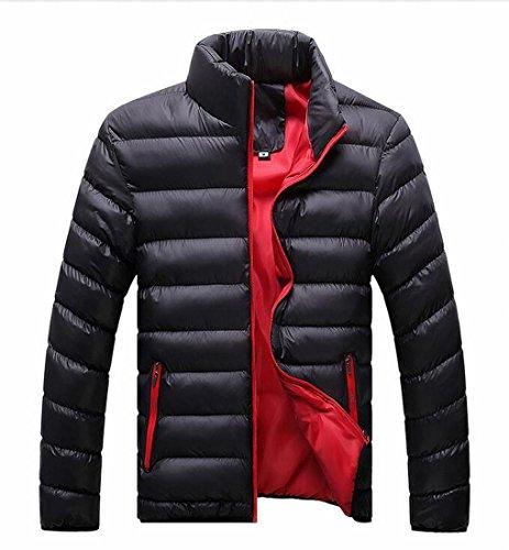Puffer Stand Men's Warm 3 Casual Coats Down Generic Collar XWSFann1