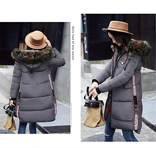Hiver BIRAN Jacken Coat El Femme Longues Doudoune Manteau aZ1UvZBw