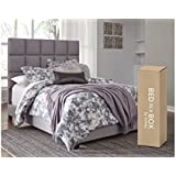 Ashley Furniture Signature Design - 10 inch Chime Express Hybrid Innerspring Mattress - Bed in a Box - Full - White