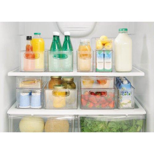 Interdesign refrigerator or freezer storage bin food organizer container for kitchen deep - Boite plastique cuisine ...