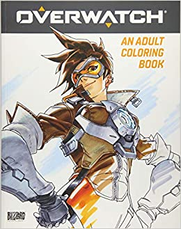 Overwatch Coloring Book Blizzard Entertainment 9781945683060