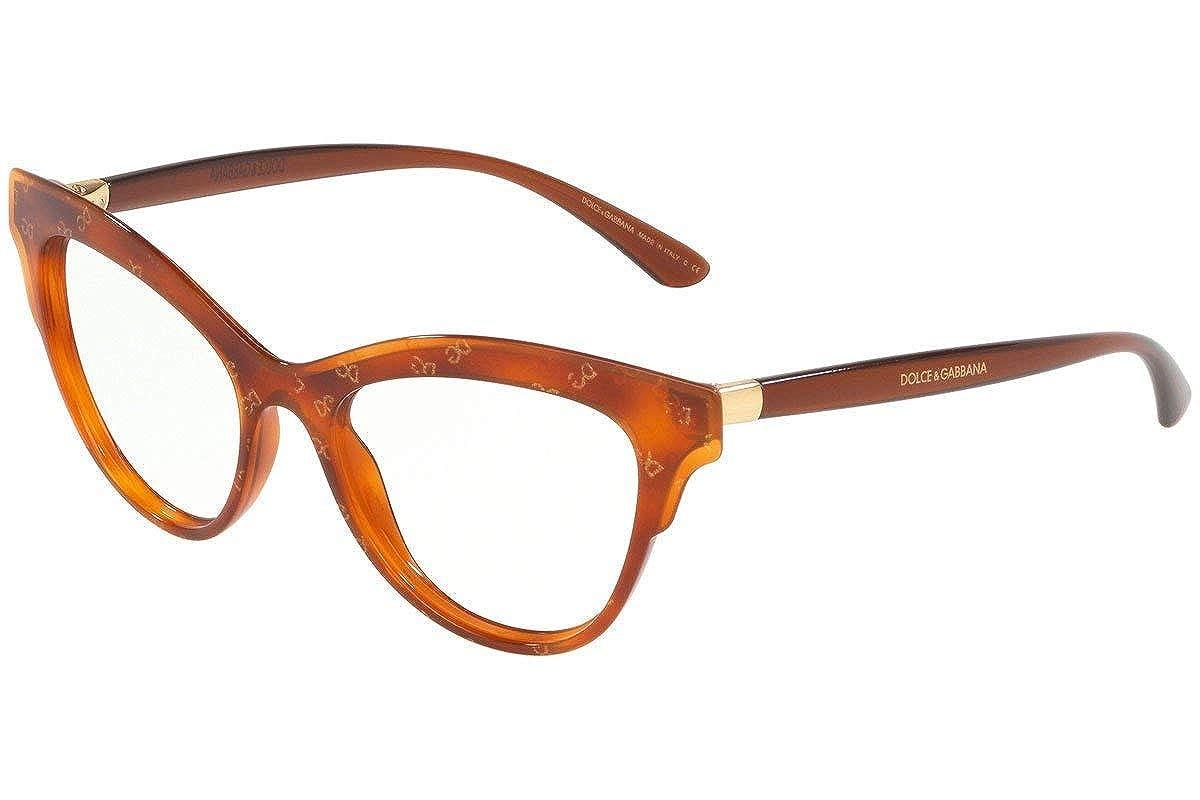 Eyeglasses Dolce /& Gabbana DG 3313 3212 HONEY HAVANA GOLD