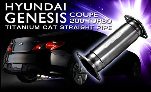 Amazon.com: Tomei EXPREME Ti TITANIUM CAT STRAIGHT PIPE for HYUNDAI GENESIS COUPE 200 TURBO - EXPREME Ti: Automotive