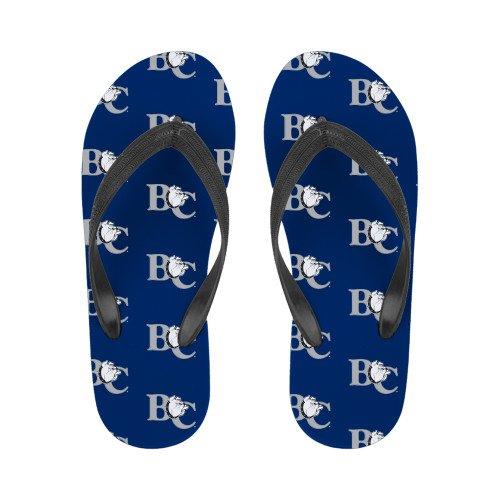 Barton Dames Full Color Flip Flops Officiële Logo