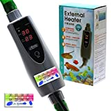 150w/300w/500w In-Line External Heater AQUARIUM HEATER - 150/300/500 WATT 1/2''-5/8'' (300 Watt 5/8'' (16/22mm) Hose)