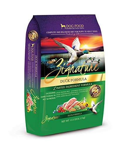 Zignature Duck Formula Dog Food