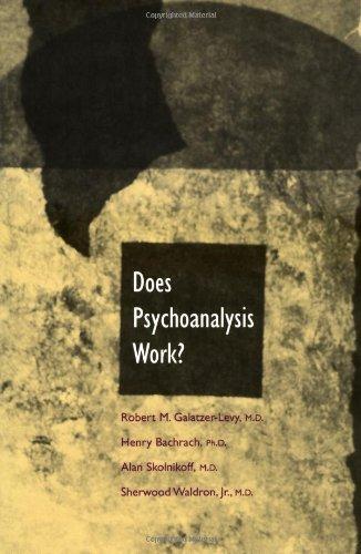 Download Does Psychoanalysis Work? ebook
