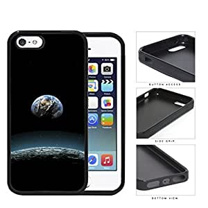 Earth Aerial View From The Moon Rubber Silicone TPU Cell Phone Case Apple iPhone 5 5s by icecream design