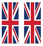 """Arts & Crafts : Beistle 52090 2Piece Union Jack Door Covers, 30"""" x 6', , Red/White/Blue"""