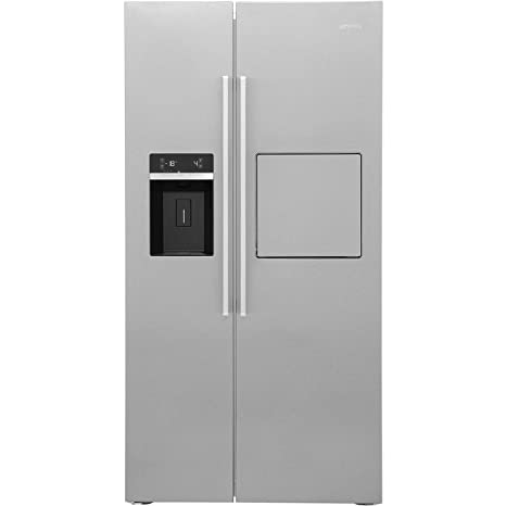 Smeg SBS63XEDH Independiente 544L A+ Acero inoxidable nevera ...