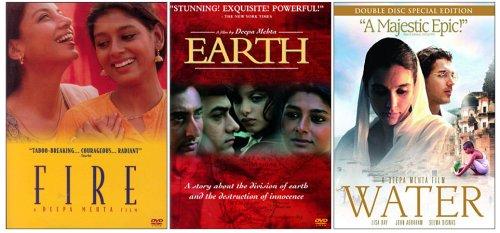 Amazon.com: Fire, Earth and Water (Deepa Mehta) (3 Pack): Shabana Azmi, Lisa Ray, Nandita Das, Seema Biswas, Kulbushan Kharbanda, Deepa Mehta: Movies & TV