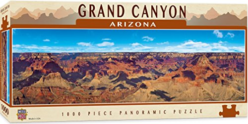 MasterPieces National Parks Panoramic Jigsaw Puzzle, Grand Canyon, Arizona, Photographs by Christopher Gjevre, 1000 Pieces (Best Description Of The Grand Canyon)
