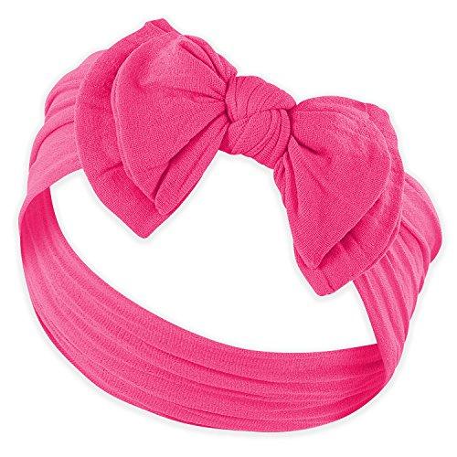 DOUBLE BOW FAVORITE BABY HEADBANDS - Baby Headband For Newborn Headbands and Baby Girls Headbands