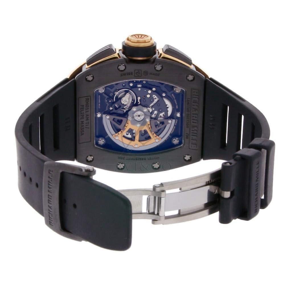 Richard Mille RM 011 RM011 - Reloj automático, diseño de autobús: Richard Mille: Amazon.es: Relojes