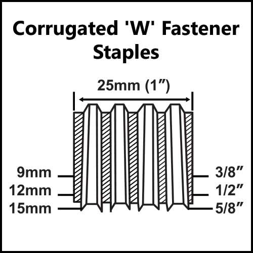 AIR LOCKER CS80A2K 3//8 Inch to 5//8 Inch Heavy Duty Aluminum Body Corrugated Fastener Kit