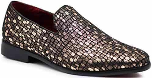 edf597ab2 Enzo Romeo SPK14 Men s Fashion Tuxedo Smoking Dress Loafer Slip On Shoes