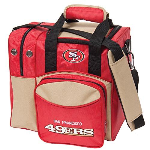 KR Strikeforce San Francisco 49ers Single Bowling Bag, Multicolor