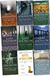 Kate Atkinson Jackson Brodie 9 Books Collection Pack Set (Life After Life,Started Early,Took My Dog,Case Histories,One Good Turn,When Will There Be Good News?,Emotionally Weird,Behind The Scenes At The Museum,Not The End Of The,Human Croquet)