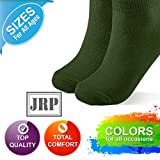 JRP 2 Pack Soft Cotton Crew Socks for