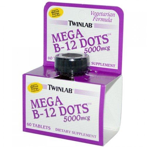 Twinlab B-12 Dots Mega 5000mcgs by Twinlab