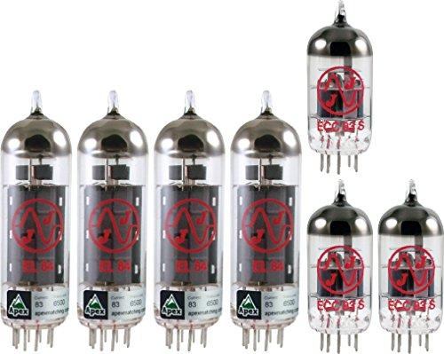 Vox AC30 Standard Tube Set, JJ Tubes (x4 EL84, x3 12AX7) by JJ Electronic