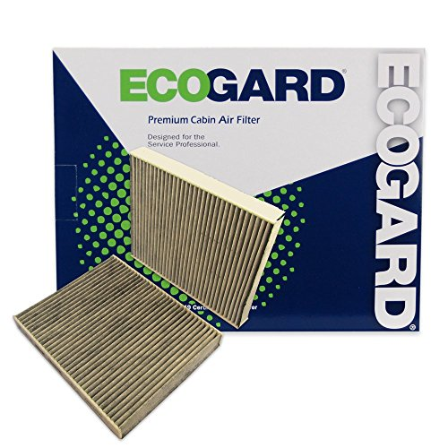 ECOGARD XC36204C Cabin Air Filter with Activated Carbon Odor Eliminator - Premium Replacement Fits BMW 528i, 535i, 535i xDrive, 528i xDrive, 550i, 550i xDrive, 750Li xDrive, 750Li, 650i, Alpina B7L
