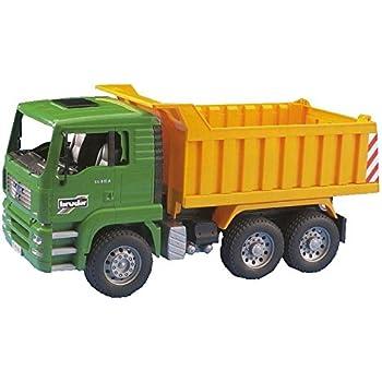 Amazon Com Bruder Scania R Series Dump Truck Toys Amp Games