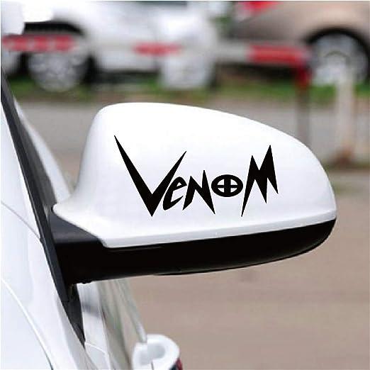 Autoaufkleber Venom Auto Aufkleber Kreative Englisch Wort Lustige Auto Aufkleber Für Auto Rückspiegel Fenster Körper Für Auto Laptop Fenster Aufkleber Baumarkt